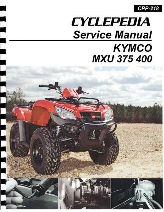 KYMCO MXU 375 / 400 ATV Service Manual