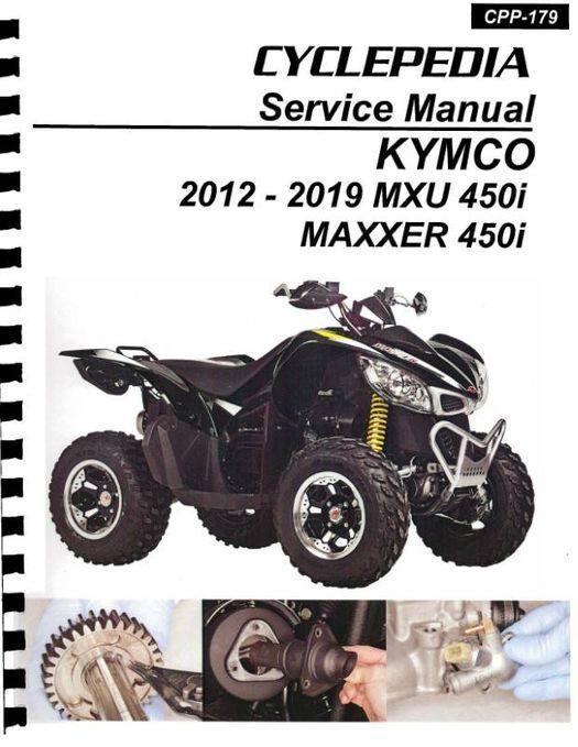 KYMCO MXU 450i / Maxxer 450i Service Manual 2012-2019