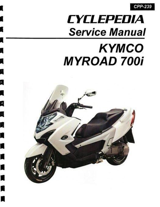 KYMCO MYROAD 700i Scooter Service Manual