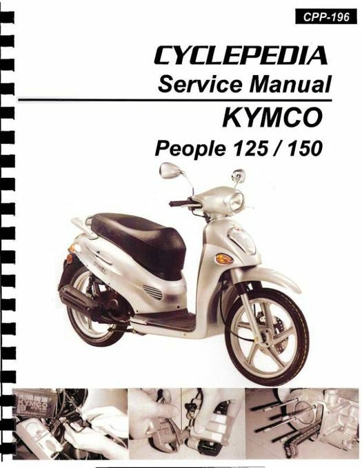 KYMCO People 125 / 150 Scooter Service Manual