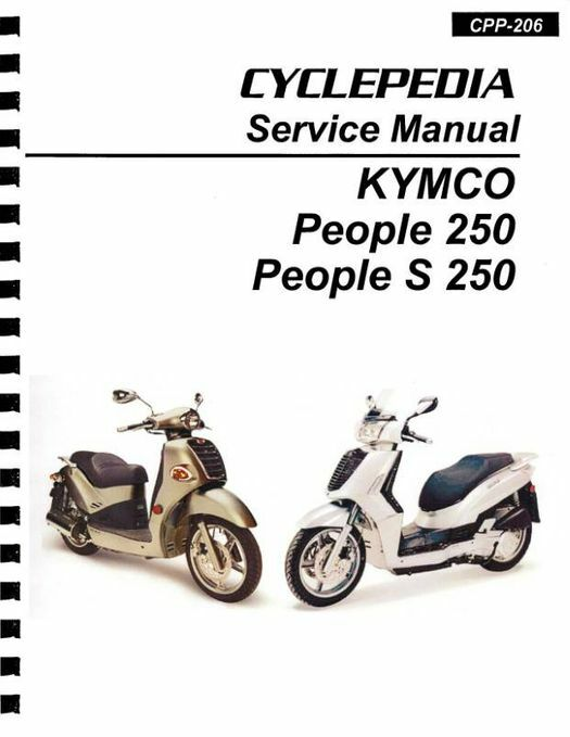 KYMCO People 250 / S 250 Scooter Service Manual: 2003-2011