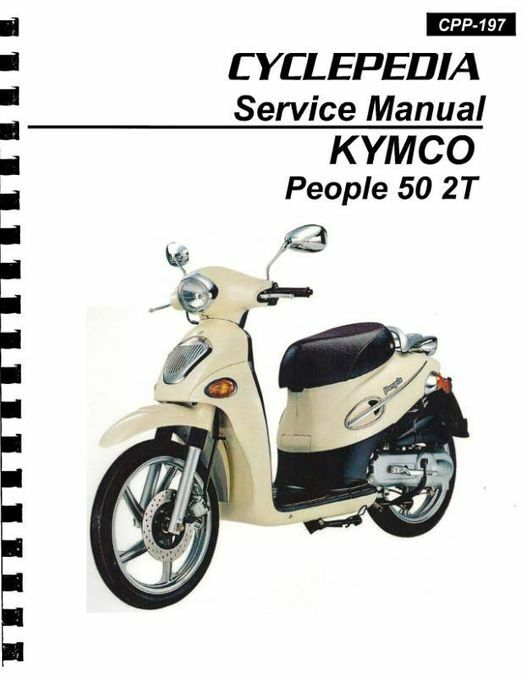 KYMCO People 50 2T Scooter Service Manual