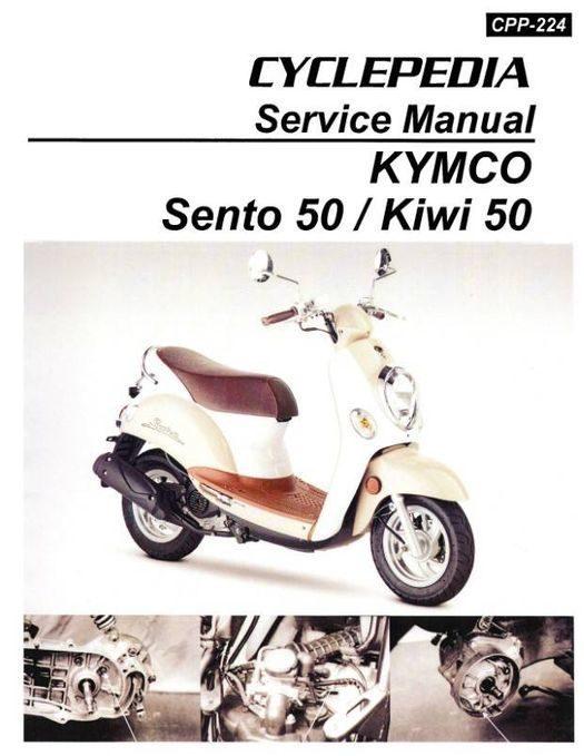 KYMCO Sento 50 and Kiwi 50 / 10 Scooter Service Manual