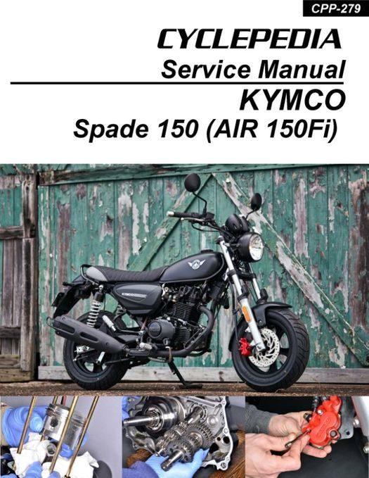 Kymco Spade 150 (Air 150Fi) Service Manual