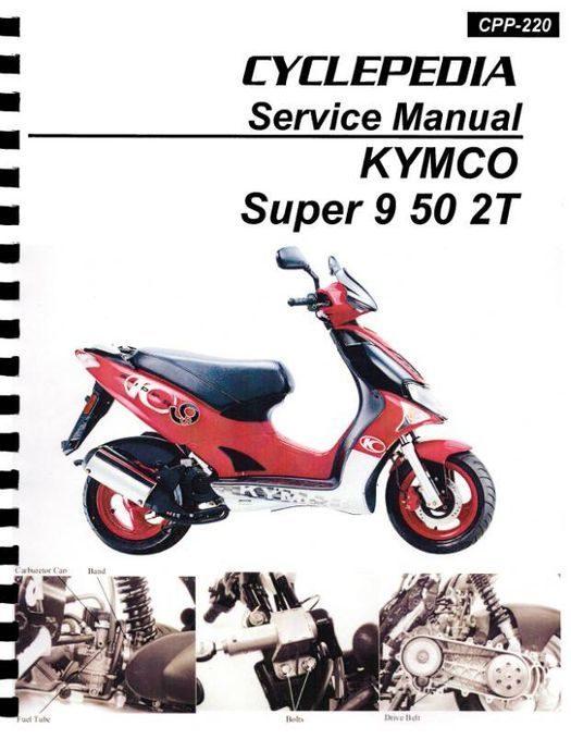 KYMCO Super 9 50 2T Service Manual