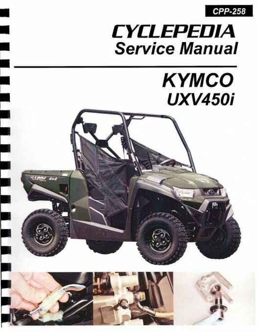 KYMCO UXV 450i 4X4 Side X Side Service Manual