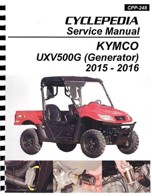 KYMCO UXV 500iG 4X4 Side X Side Service Manual 2015-2016