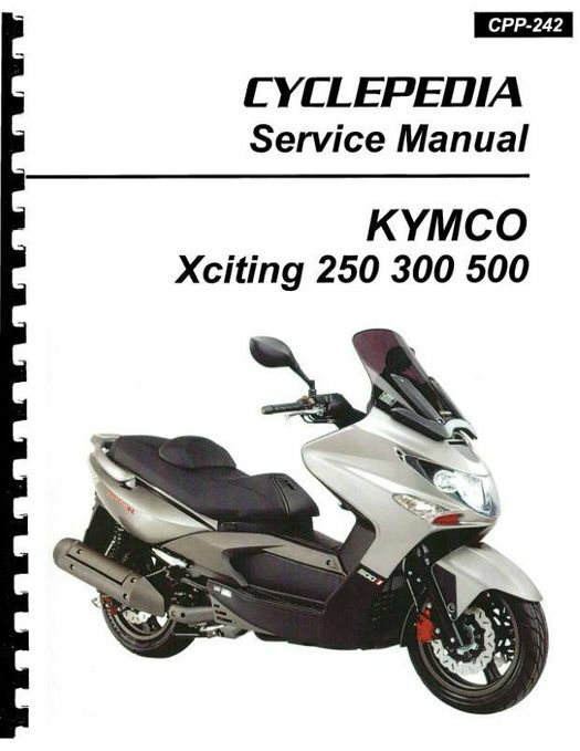 KYMCO Xciting 250 / 300 / 500 Ri Scooter Service Manual