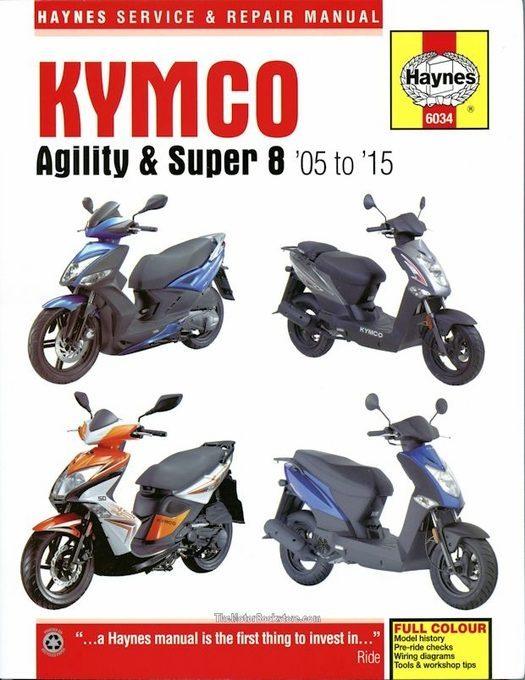 Kymco Agility & Super 8 Repair Manual: 2005-2015