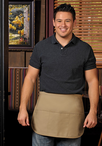 Three Pocket Rounded Waist Apron