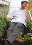 Cotton Baggy Chef Pant