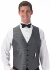 Men's Banquet Diamond Leaf Vest