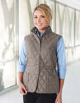 Ladies Hotel Quilted Vest