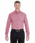 Men's Cotton Blend Mélange Button Down Shirt