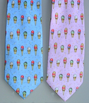Restaurant Silk Ice Cream Tie