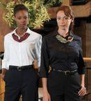 Ladies Ultimate 3/4 Sleeve Stretch Dress Restaurant Blouse