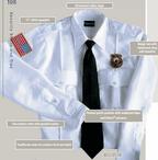 Unisex Poly/Cotton Security Shirt