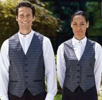 Men's Wave Woven Jacquard Vest