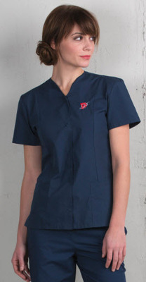 Ladies Extreme Housekeeping Snap Front Tunic with Two Pockets