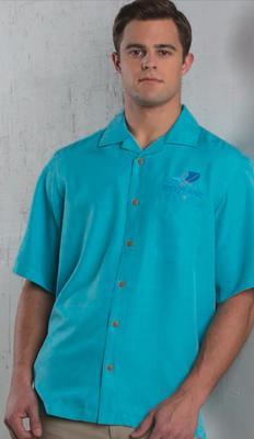 Unisex Jacquard Server Camp Shirt