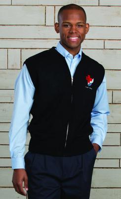 Unisex Full Zipper Hotel Sweater Vest