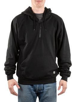 Industral Quarter-Zip Hooded Sweatshirt
