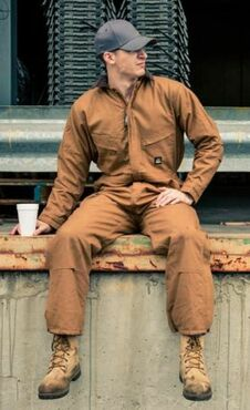 Industrial Deluxe Insulated Coverall