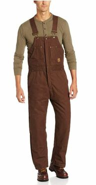Industrial Original Washed Insulated Bib Overall
