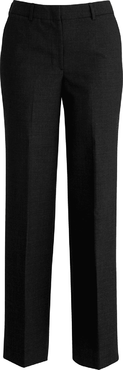 Ladies Flat Front Poly/Wool Pant