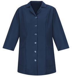 Ladies Housekeeping Lined Adjustable 3/4 Sleeve Smock