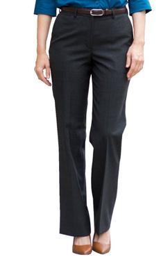 Ladies Poly Wool Adjustable Waistband Pant