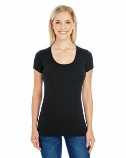 Ladies Server Short Sleeve Scoop Neck Tee