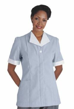 Ladies Single Breasted Junior Cord Tunic