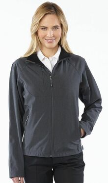 Ladies Soft Shell Water Resistant Valet Jacket