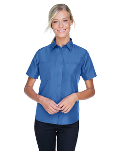 Ladies Valet Mesh Back Performance Shirt
