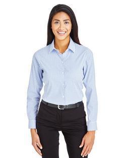Ladies Waitstaff Micro Window Pane Shirt