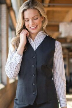 Ladies Washable Poly/Wool Vest