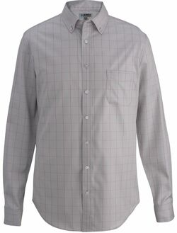 Men's Hotel Extreme No-Iron Houndstooth Windowpane Shirt (Currently Unavailable)