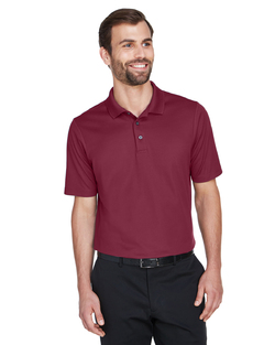 Men's Premium Cotton-Lined Moisture Management Polo Shirt