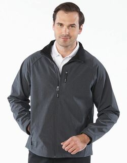 Men's Soft Shell Water Resistant Valet Jacket