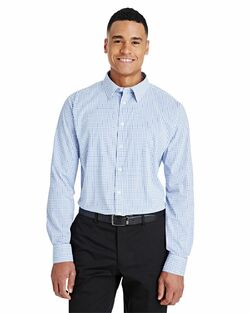 Men's Waitstaff Micro Window Pane Shirt