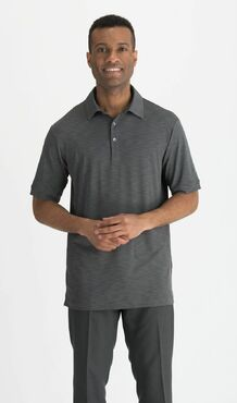 Men's Country Club Heather Three Tone Comfy Polo