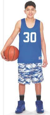 Reversible Practice Basketball Pinnie