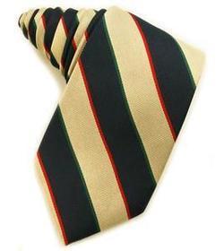 Server 100% Silk Loom Woven Tie