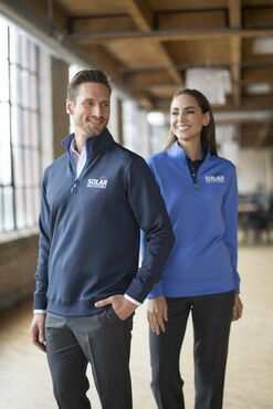 Unisex Country Club Quarter Zip High Tech Pullover
