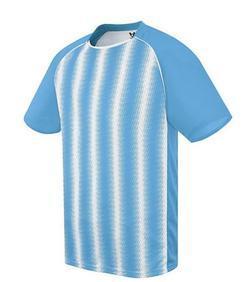 Unisex Youth/Adult Zebra Striped Soccer Jersey