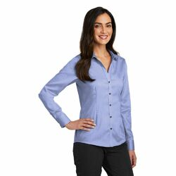 Women's Restaurant Non-Iron Pinpoint Oxford Blouse