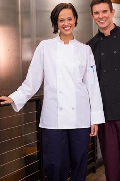 Classic Poplin Mesh Back Poly Cotton Chef Coat