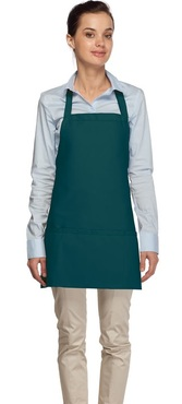 Criss-Cross Three Pocket Bib Apron