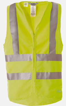Hi-Visibility Deluxe Twill Vest